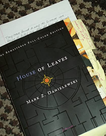 Terryfying ghost stories; House Of Leaves