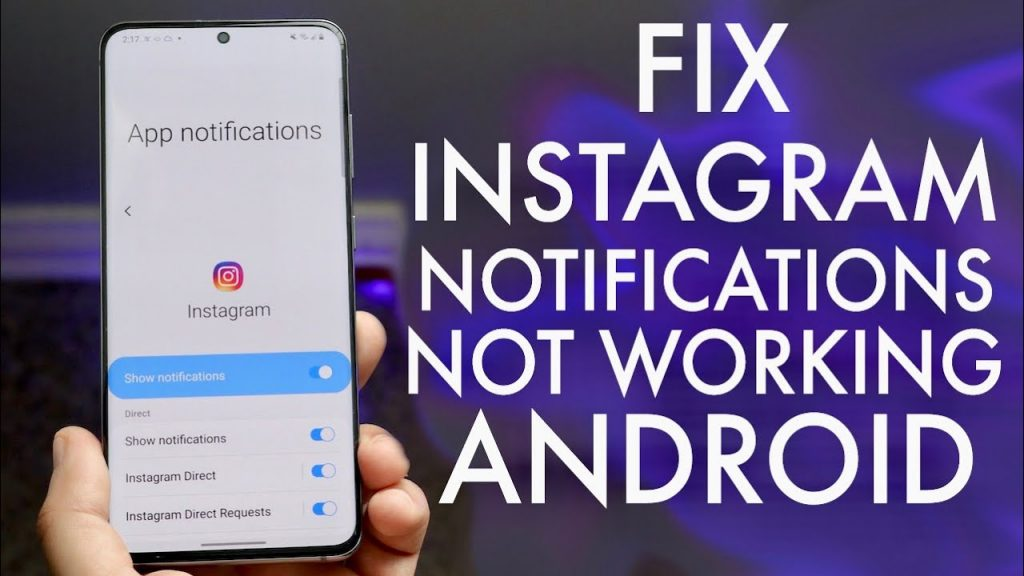 How To Fix Instagram Notifications Not Working On Android