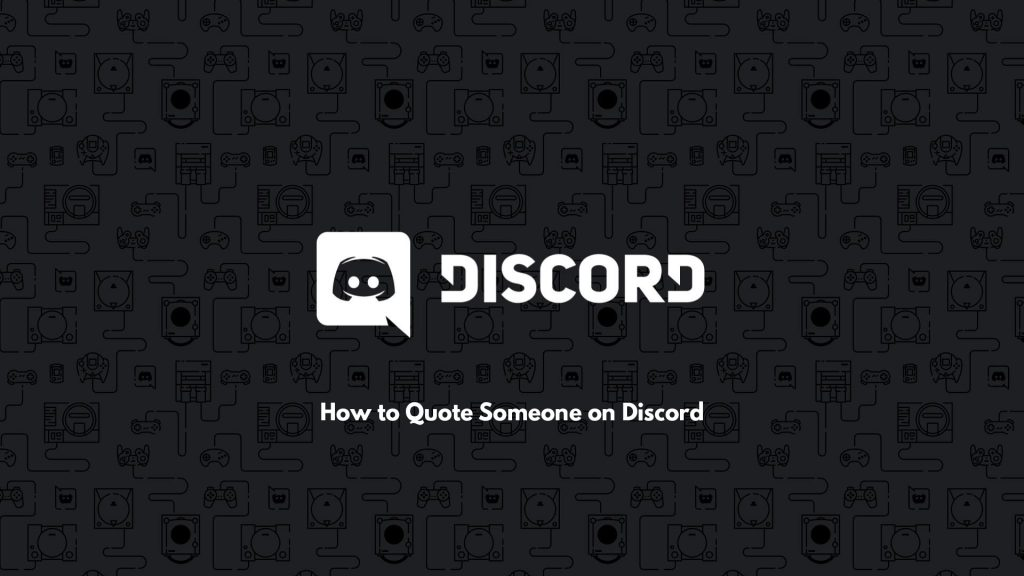 How To Quote On Discord