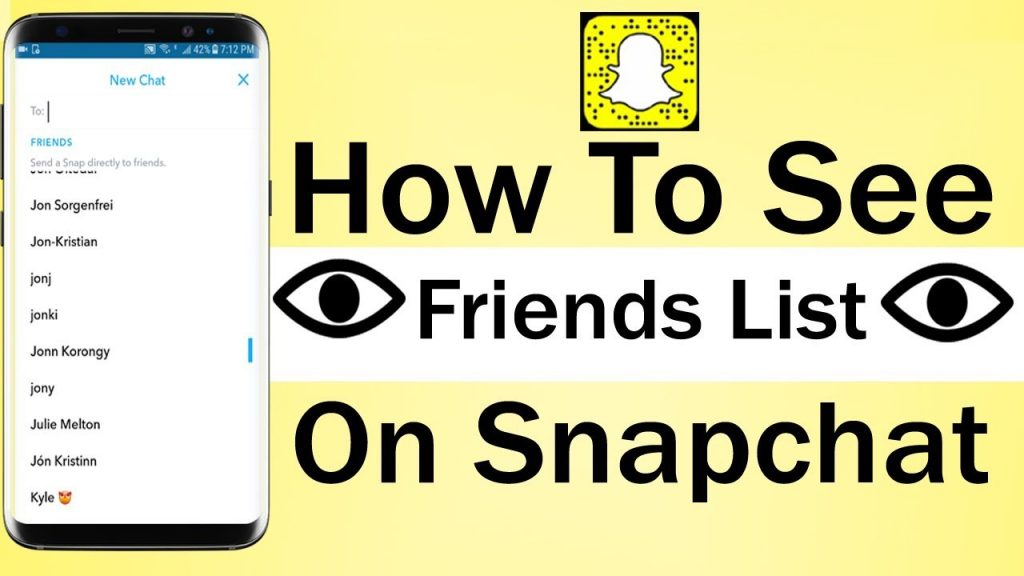 How To See Someone's Snapchat Friend List