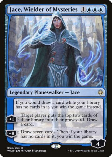 Best War Of The Spark Cards; Jace, Wielder of Mysteries