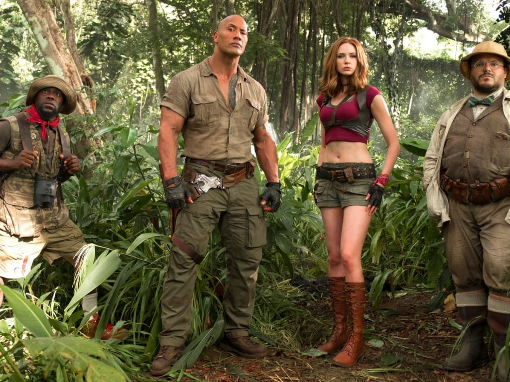 Best action comedies on Netflix ; Jumanji Welcome To The Jungle
