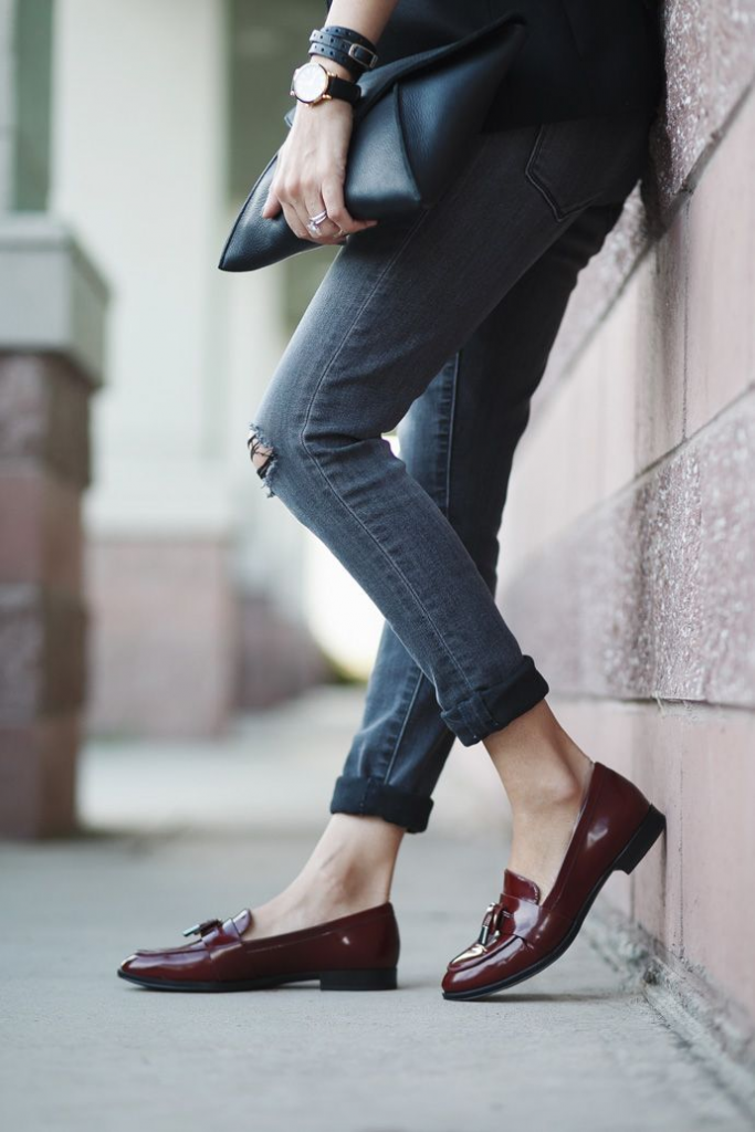 Casual Shoes For Businesswomen; Loafers