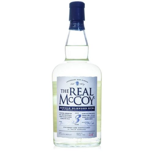 White Rum For Mojitos; Real McCoy Barbados Rum 3 Year
