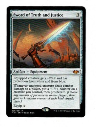 Best Proliferate cards; Sword of Truth and Justice