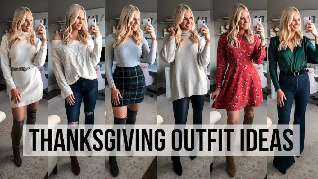 Thanksgiving Outfits; Thanksgiving Outfit Ideas