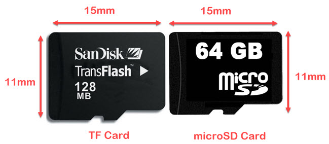 What is a TransFlash Card; What is a TransFlash Card and How Is It Different From a Micro SD Card