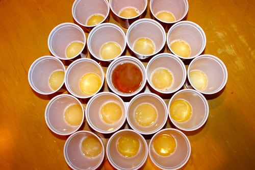 Boom cup drinking game