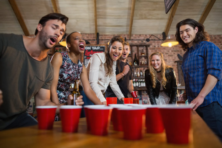 How to play boom cup drinking game
