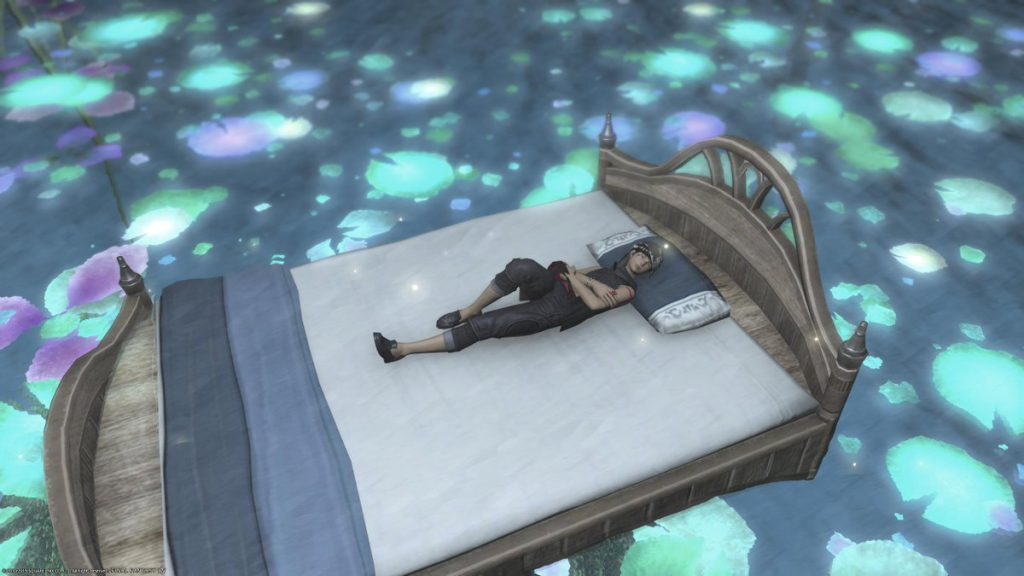 Best Mounts In Final Fantasy XIV - Magicked Bed