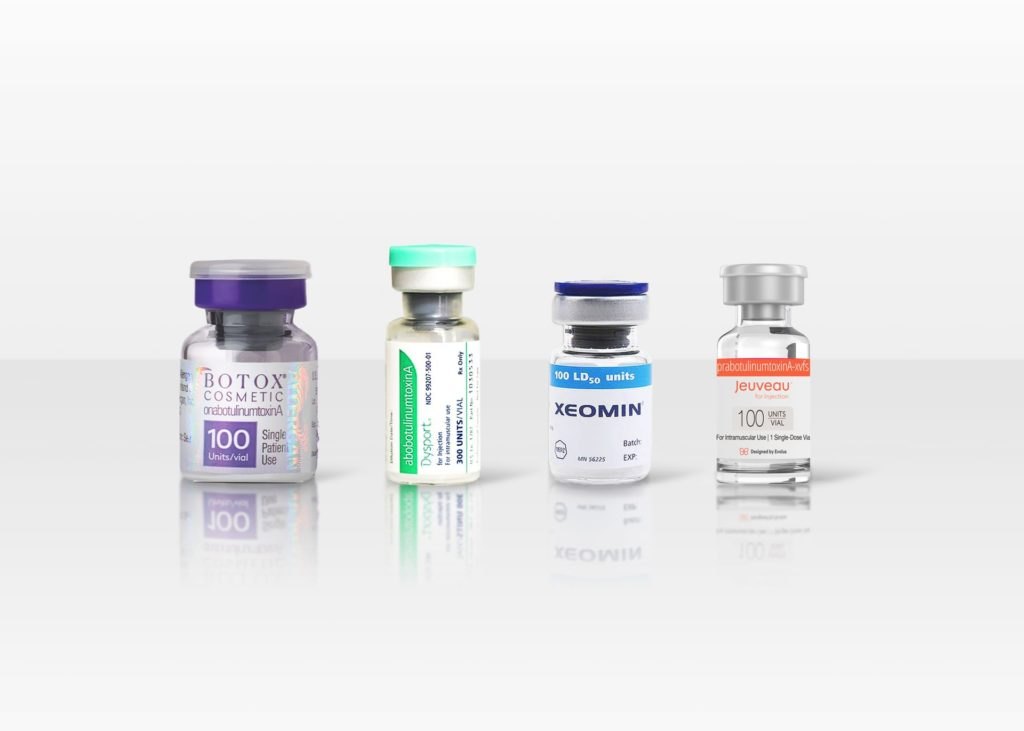 different brands of botox
