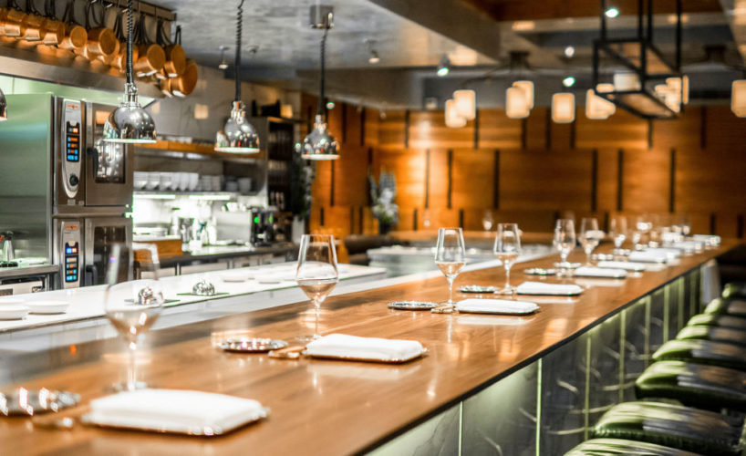Expensive Restaurant in New York City; Chef's Table At Brooklyn Fare