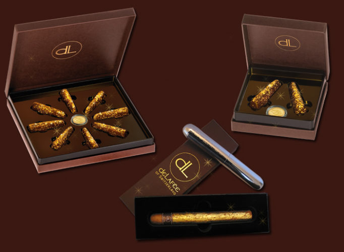 Most Expensive Chocolates In The World; DeLafee Gold Chocolate Box