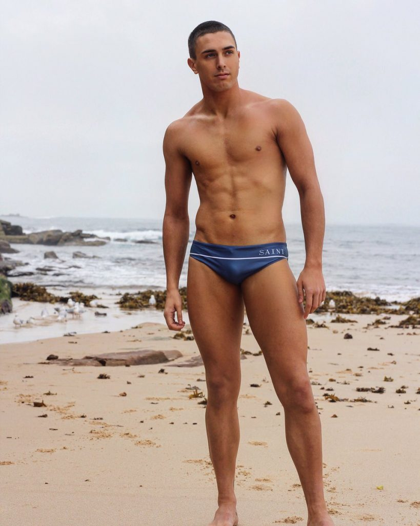 why should guys wear a speedo; Flaunt Your Tall Legs