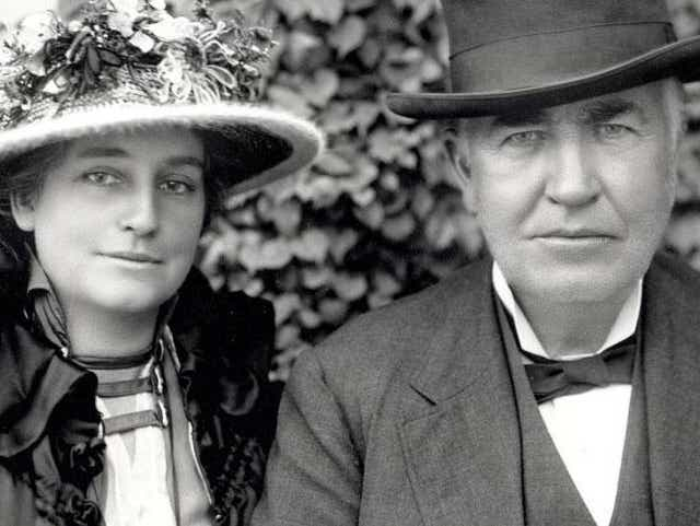 How Did Thomas Edison Propose Marriage To His Second Wife; How Did Thomas Edison Propose Marriage To His Second Wife Mina Miller