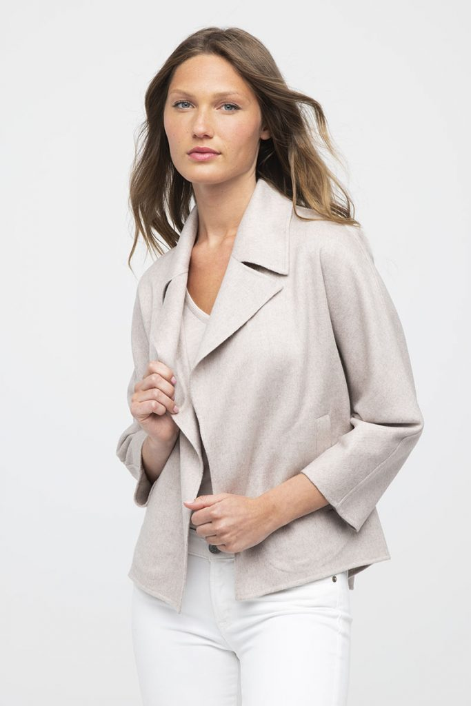 Collars On Women's Clothes; Notched Collar