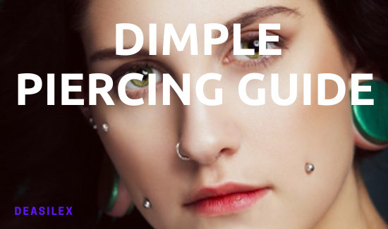 Cheek And Dimple Piercing