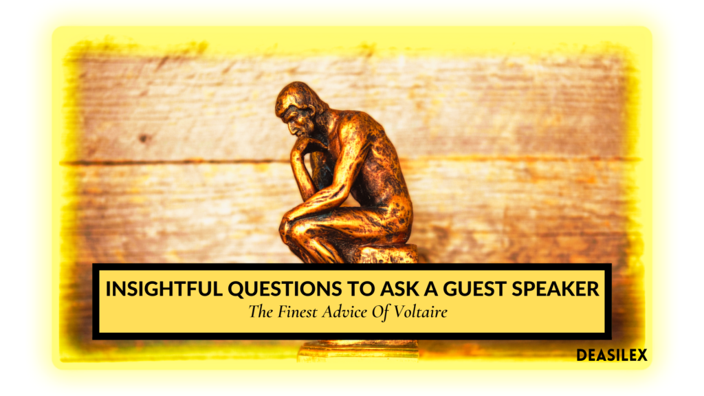 questions to ask a guest speaker